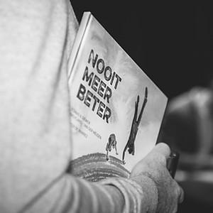 """Boekvoorstelling """"Nooit meer beter"""""""
