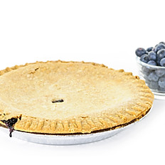 Large Blueberry Pie