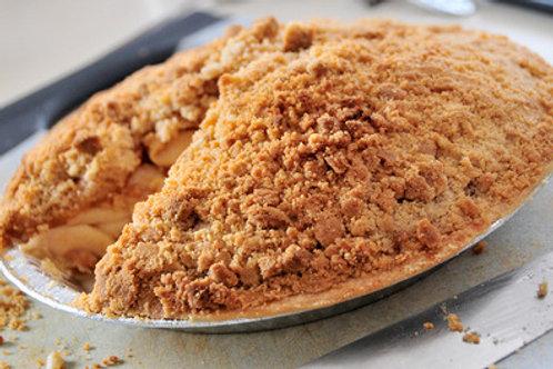 Large Apple Crumb Pie