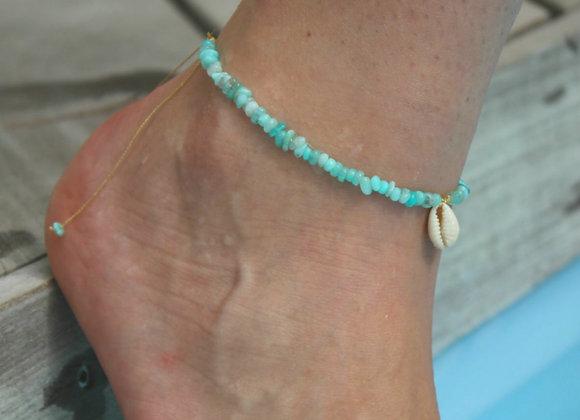 Bracelet de cheville AMAZONIA