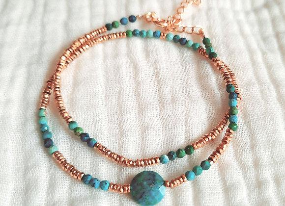 Bracelet  double SUNSET