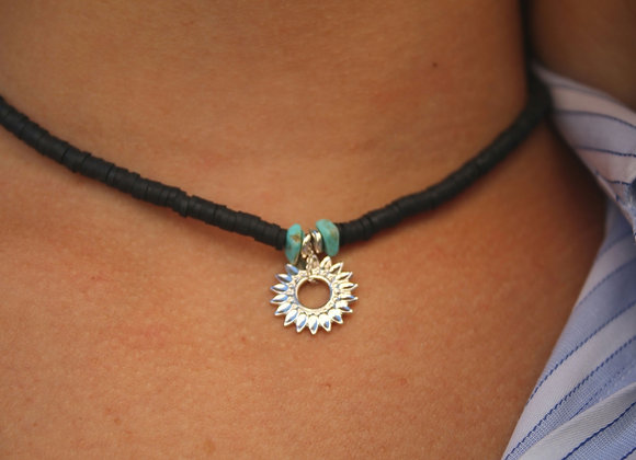 Collier THEIA argent