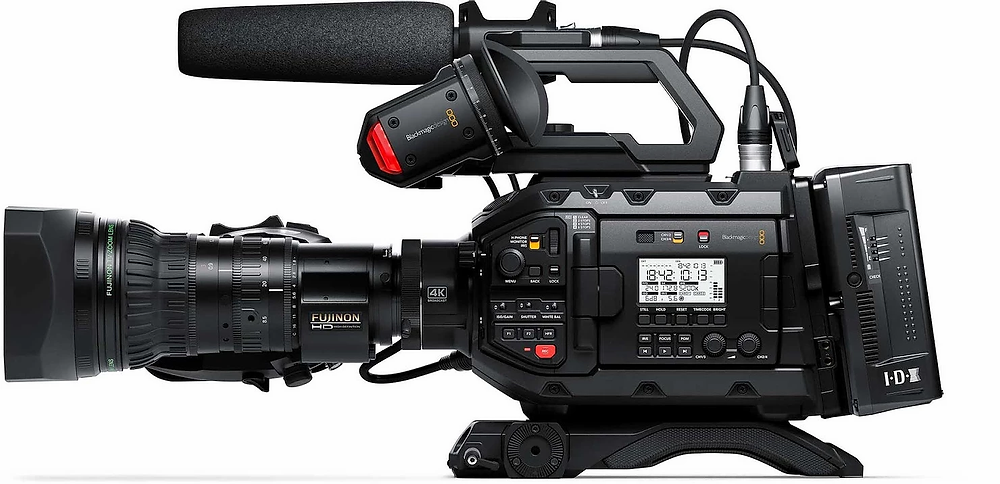 Blackmagic Design URSA Broadcast Camera. Image courtesy of Blackmagic Design