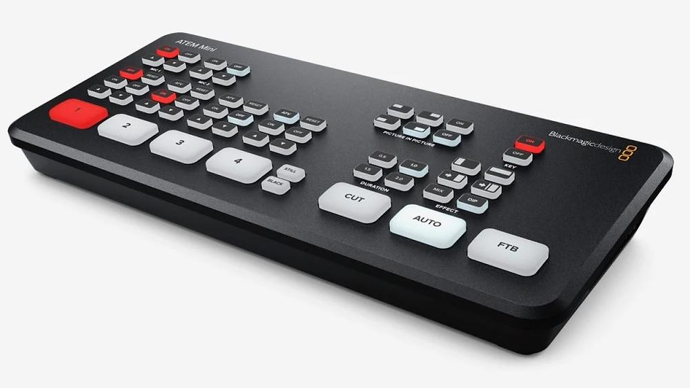 Blackmagic Design ATEM Mini Switch. Image courtesy of Blackmagic Design