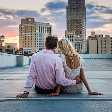 Kara + Mike: A Detroit Centered Engagement Shoot