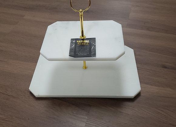 Marble Tier Platter