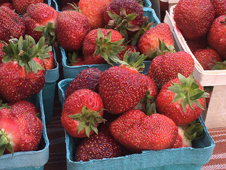 Wednesday, June 26 --            Strawberry Fields Forever!