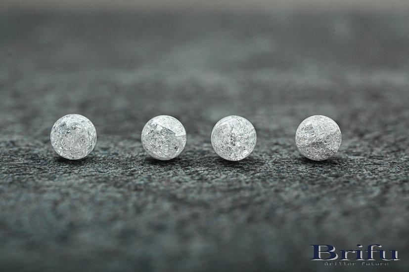 クラック水晶|10mm|【5A】