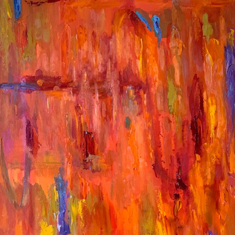 Sunrise, Oil on Canvas, 30 x 40