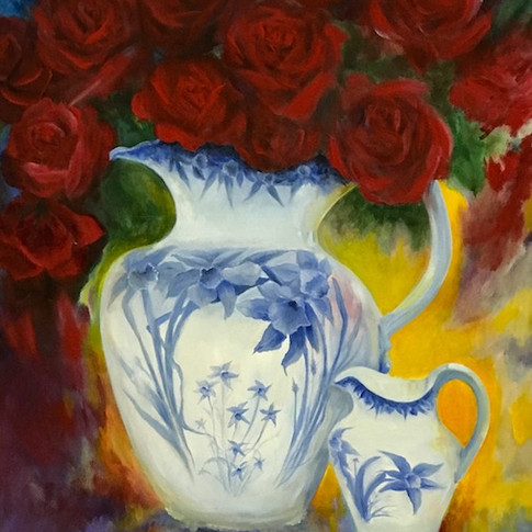 Memories, Oil on Canvas, 24 x 30
