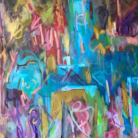 Live, Oil/Acrylic on Canvas, 30 x 40