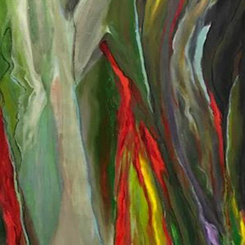 Reach For The Sky, Oil on Canvas, 15 x 30