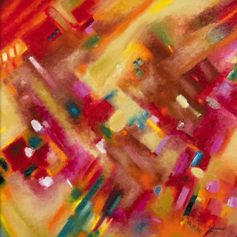 Conversion Color #1, Oil on Canvas, 32 x 32