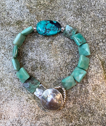 Chrysoprase and Turquoise