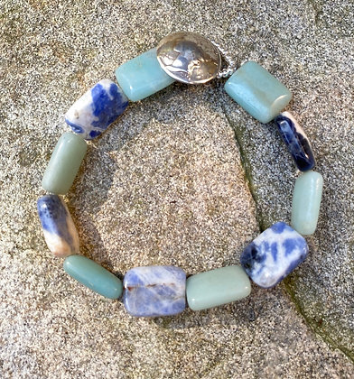 Amazonite and Sodalite