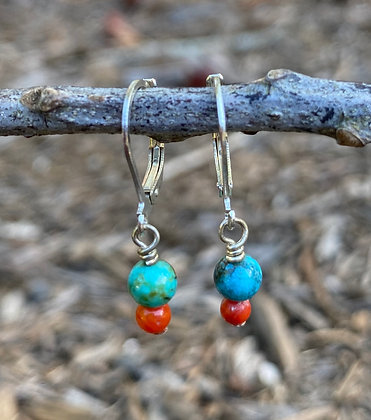 Turquoise and Coral (2)