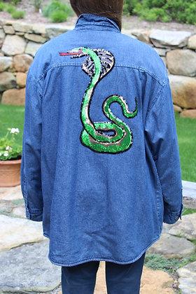 Cobra Jacket lined with plaid fleece
