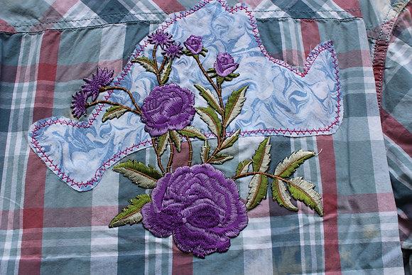 MV/Purple Flower Sleeved