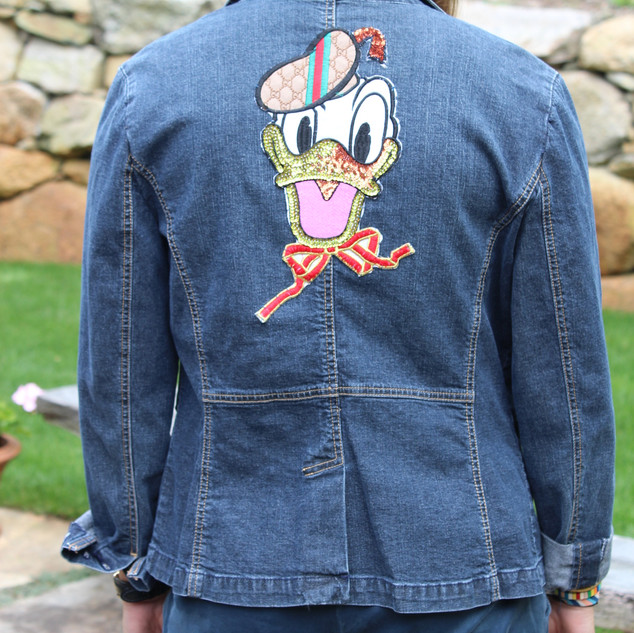 Jean Jacket Donald Duck