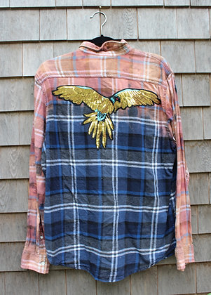 Falcon on Flannel