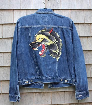 Wolf Jean Jacket