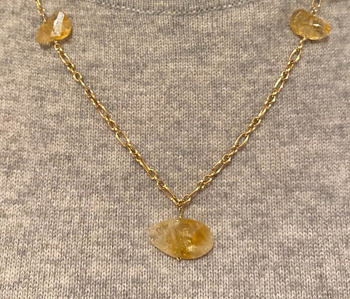 Citrine and Gold