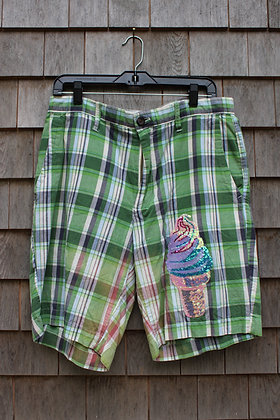 Ice Cream Cone Shorts