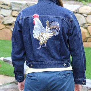 Jean Jacket Rooster