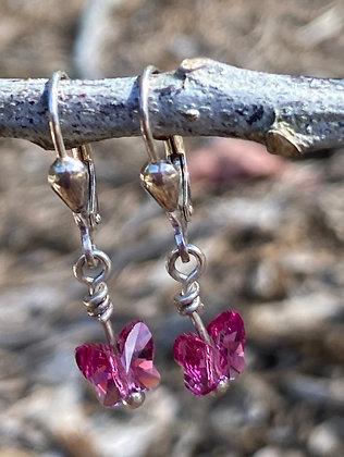 Swarovski Crystal Butterflies