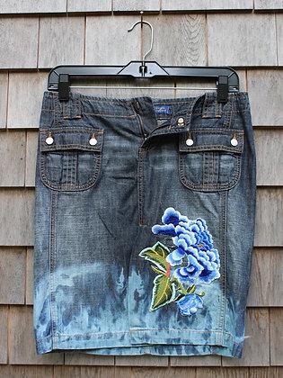 Blue Flower skirt