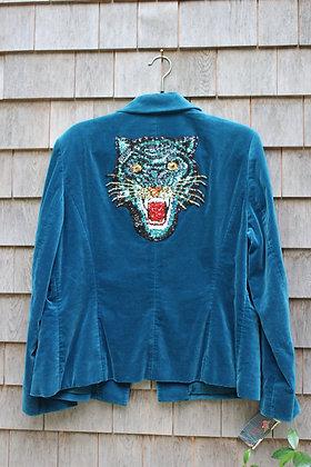 Tiger Velvet Jacket