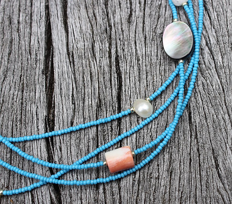 River Shell, Pearl and Coral