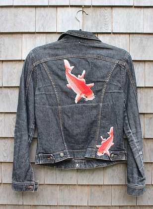 Quoi Fish Jean Jacket