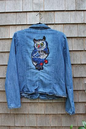Owl Jean Jacket