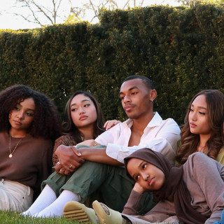 Rania, Josh, Iman, Chloe, Dwayne, and Jade