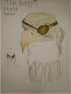 Bald Eagle Mask Design