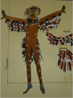 Hoopoe Costume Design