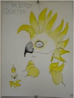 cockatoo Mask Design