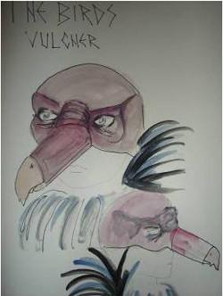 Vulture Mask Design