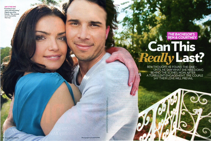 The Bachelor, People Magazine 2012