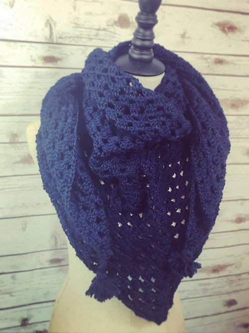 Once in a Blue Moon Shawl/Scarf