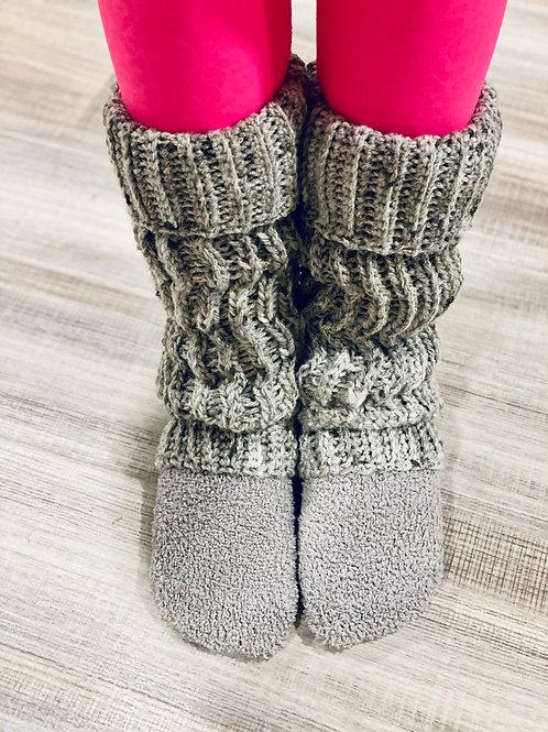 Knot Knit Leg Warmers
