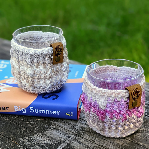 The Hollywood Wine Glass Cozy Pattern