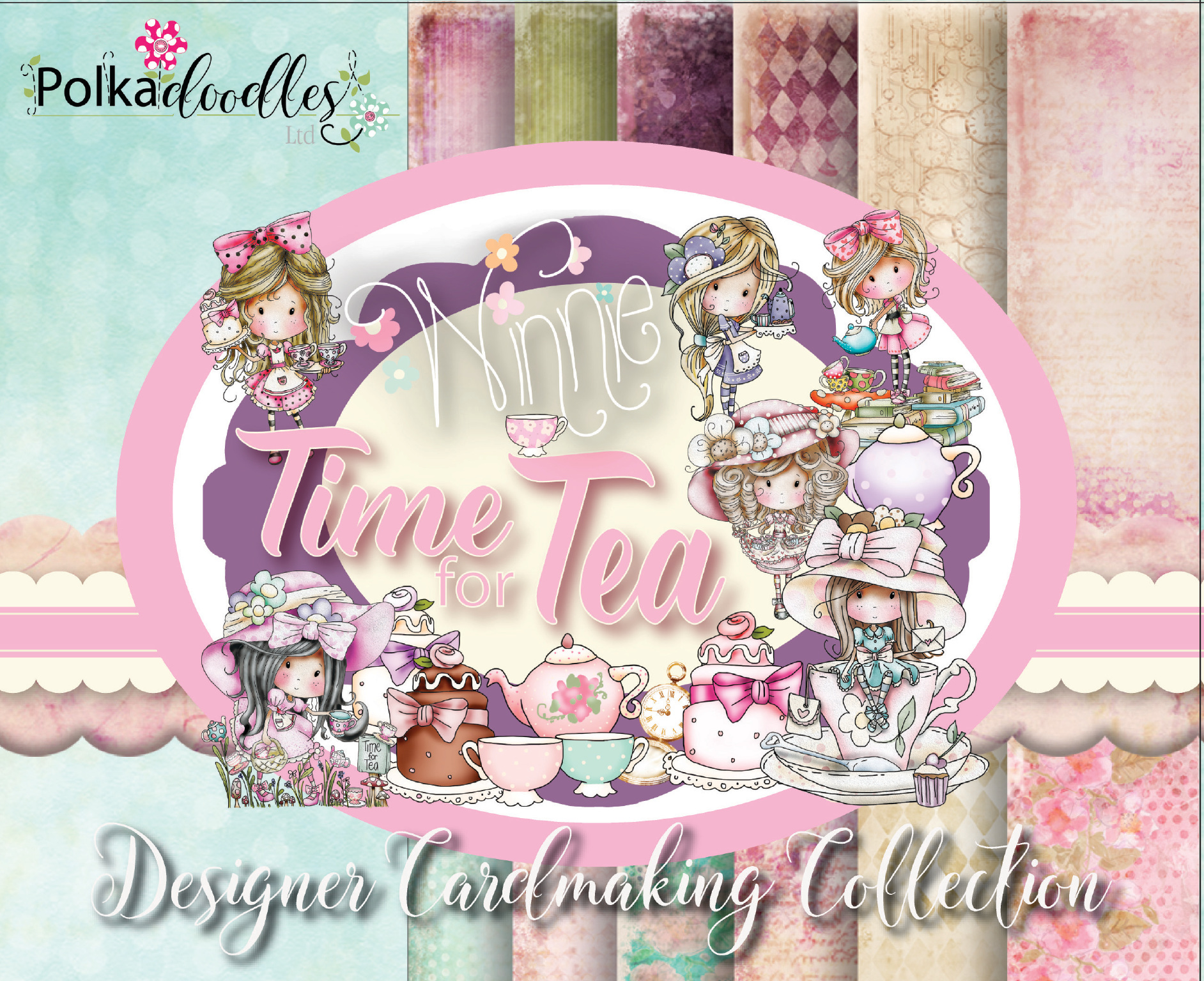 LDRS PD119 Time For Tea Cardmaking Kit