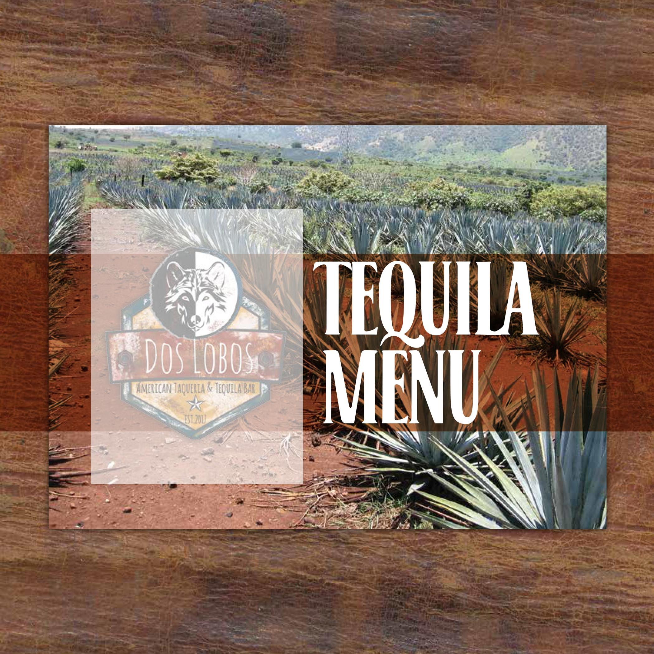 Tequila Tasting Menu