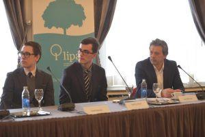 S lijeva na desno: Ivan Majić, Matej Bule, Davor Huić