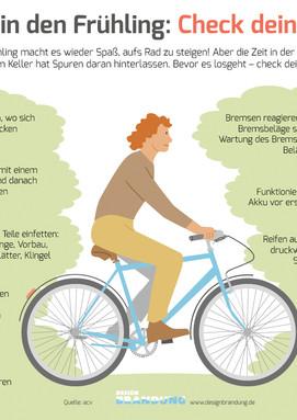 Fahrrad-Check im Frühling