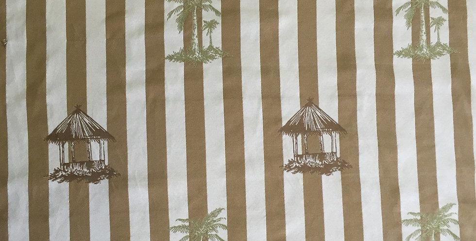 Tropical Huts - Stripe Pattern