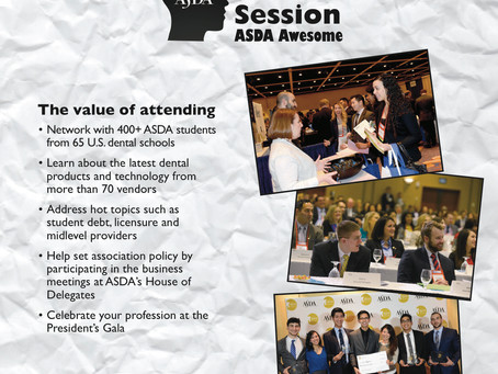 Register for ASDA Annual Session 2015: Boston, MA