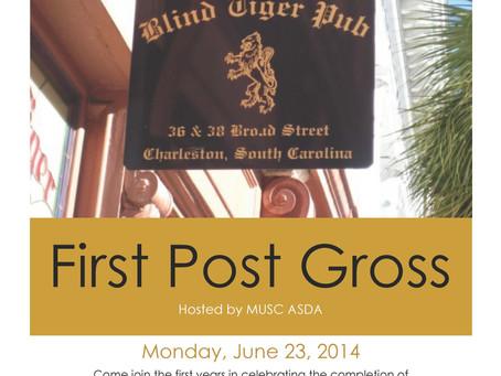 MUSC ASDA Post Gross Party June 23rd!!
